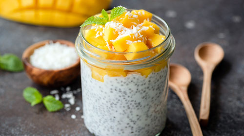 Fruchtiger Chia Pudding