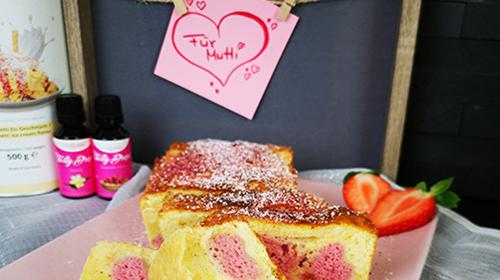 Protein-Herzchen-Kastenkuchen
