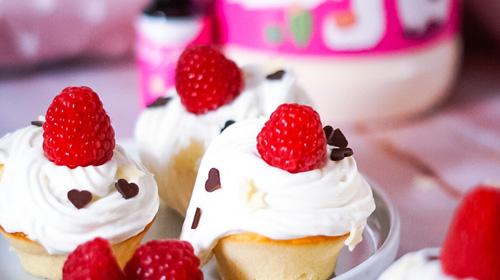 Himbeere-Cupcakes