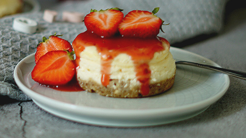 Strawberry Sensation Cheesecake
