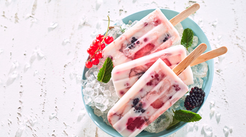 Frozen Yoghurt Eis - Yogurette Geschmack